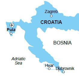 Pula map