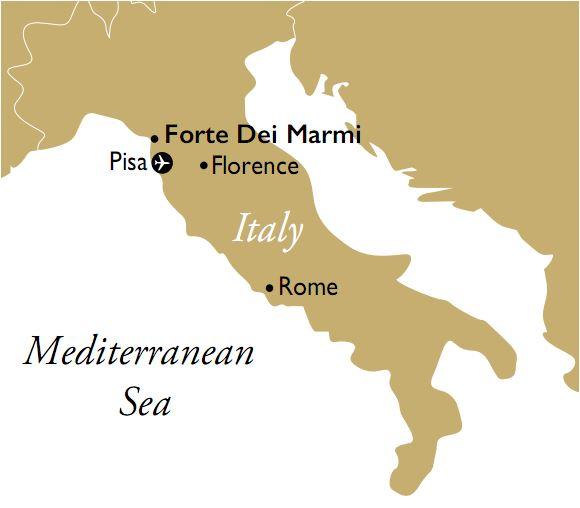 Tuscany, Forte Dei Marmi, Italy