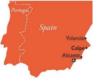 Calpe, Spain